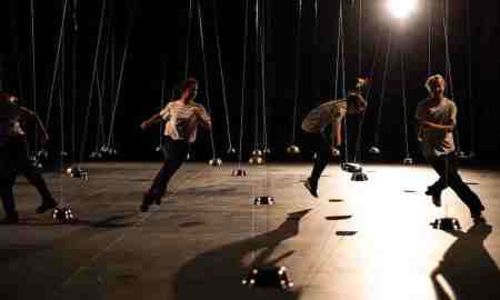 Lucy Guerin's 'Pendulum'. Photo by Gregory Lorenzutti.