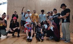 Dance teacher Seidah Tuaoi (lower right).