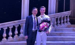 Li Cunxin and Joel Woellner. Photo courtesy of Queensland Ballet.