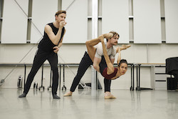 RNZB in rehearsal for 'The Firebird'. Photo by Ross Brown.