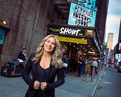 Natalie Bassingthwaighte in New York. Photo by Evan Zimmerman.