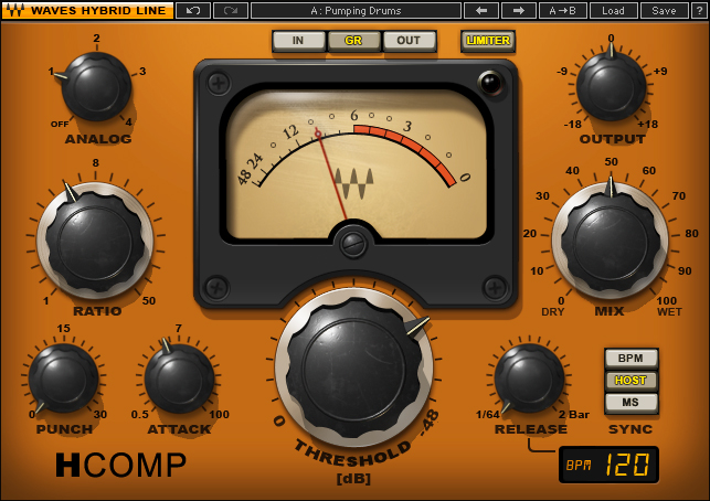 Waves H-Comp Essential EDM Compressor