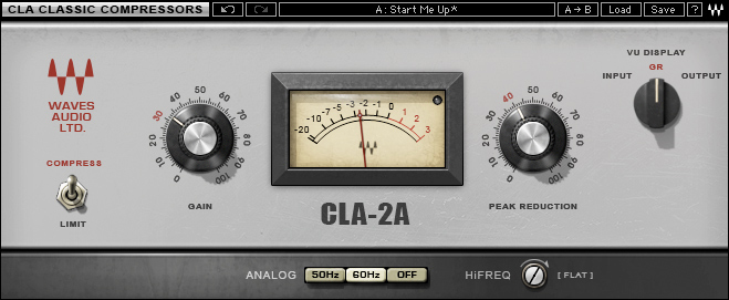 Waves CLA-2A essential EDM compressor