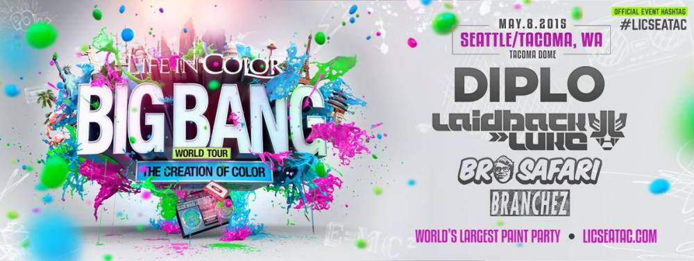 Life in Color Lineup