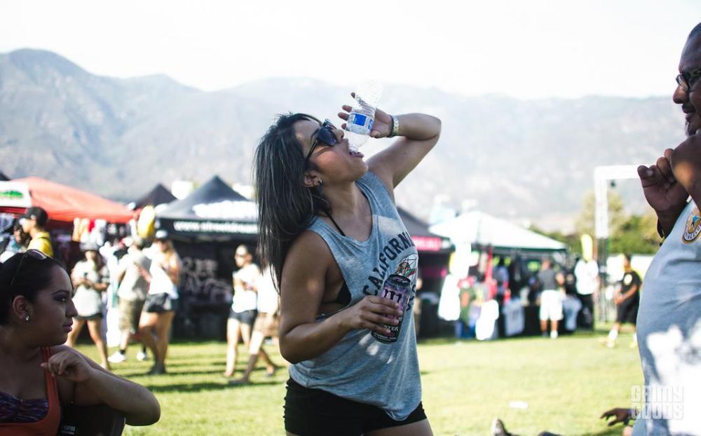 festival hydration first aid tip