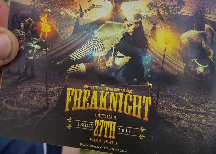 FreakNight 2017 Flyer