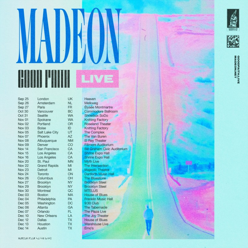 Image result for good faith live tour madeon