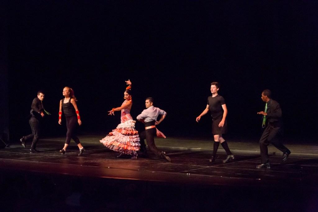 Marty Brondon, Maggie Doyle, Claudia Pizarro, Nestor Corona, Peter Dziak, Zada Cheeks (Photo by Cheryl Mann)