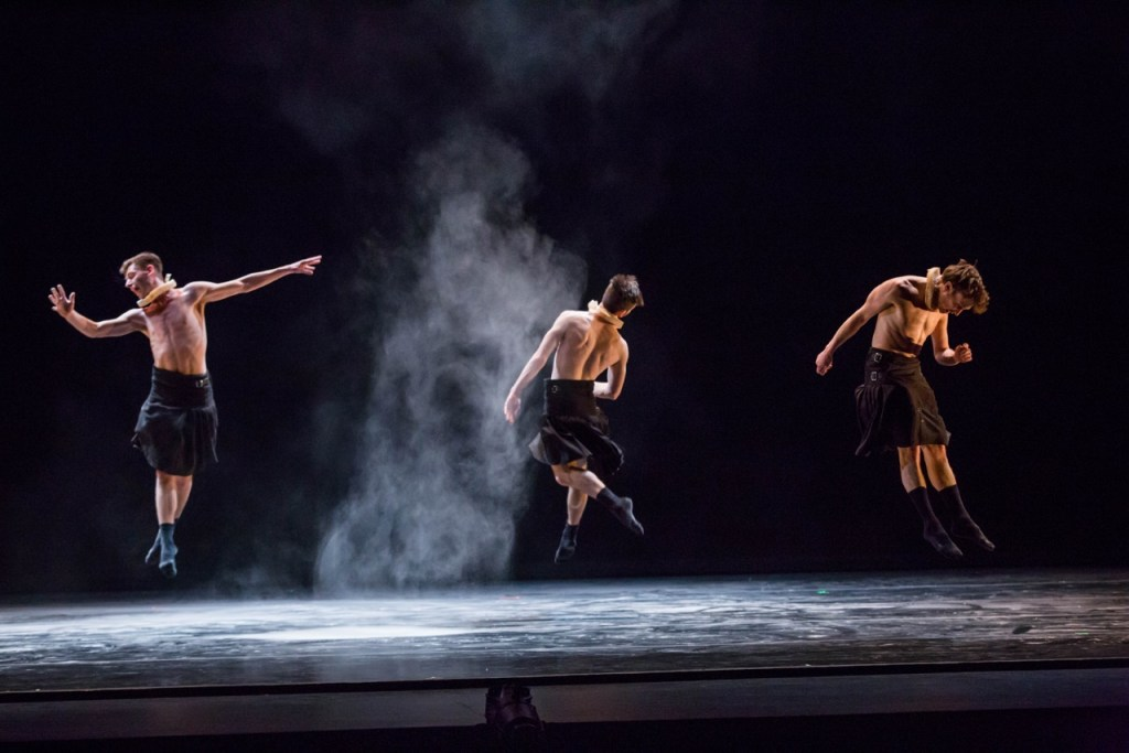 Visceral Dance Chicago in 'Ruff Celys'. Photo by Cheryl Mann