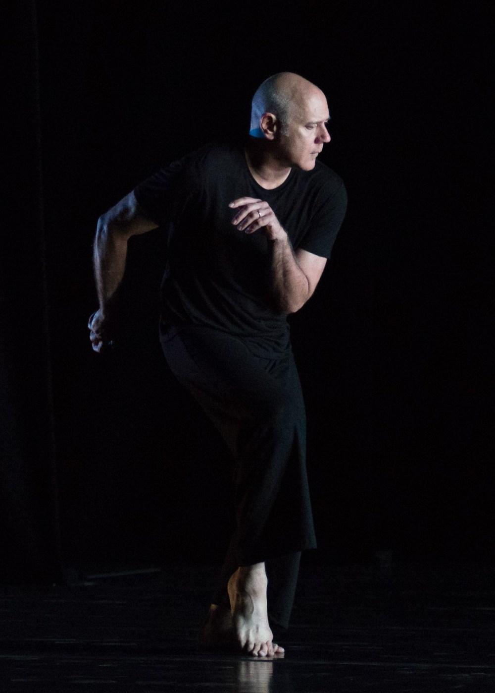 """Doug Varone in """"Nocturnes"""" (Photo by Brooke Trisolini)"""