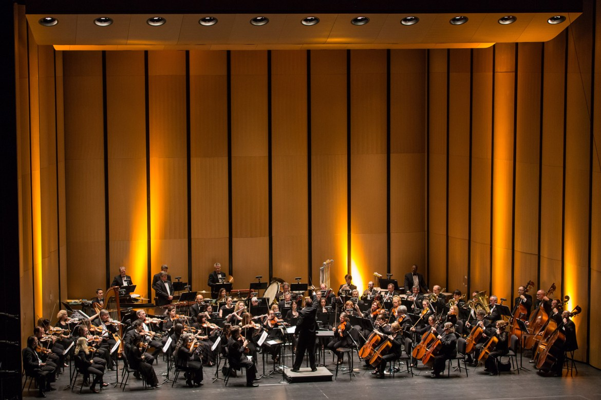 The Chicago Philharmonic (Photo by Elliot Mandel)