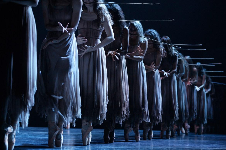 English National Ballet in Akram Khan's Giselle (Photo by Laurent Liotardo)