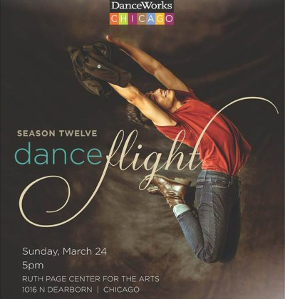 DanceWorks Chicago DanceFlight 2019 Poster