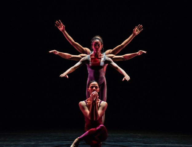 Briana Arthur, Paige-Fraser, Joshua Henry and William Roberson for Deeply Rooted Dance Theater (Photo by Michelle Reid)