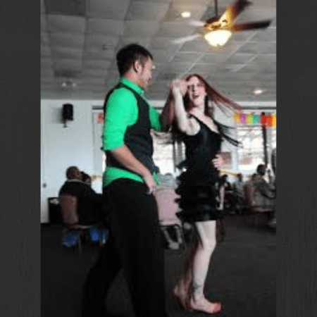 learning something new? try ballroom dancing