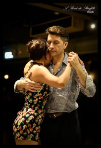 3 Argentine Tango Milonga Posts I Like - couple dancing in embrace