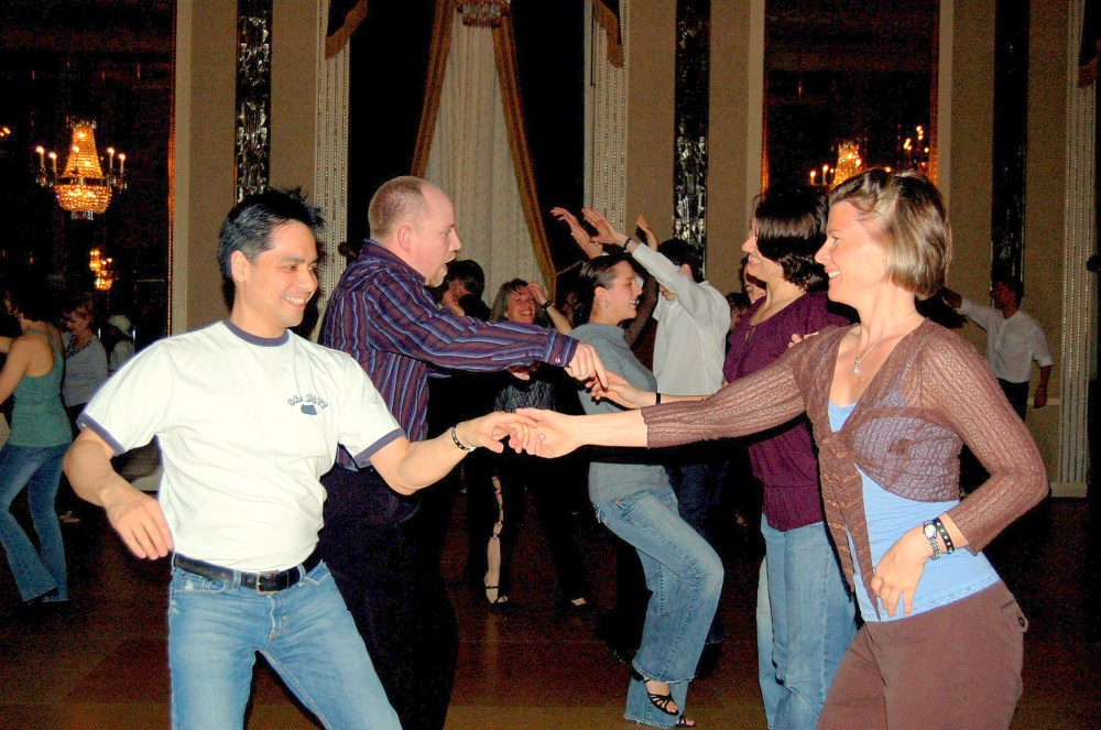 west coast swing is an example of social dance