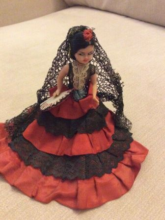 Beautiful dolls from around the world.
