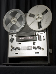 ballroom dancing then & now involved a reel to reel tape player