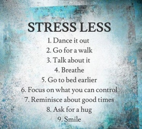 When you're down in the dumps, stress less with dancing..
