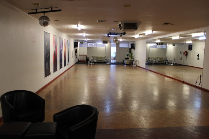 Rent floor space for your solo or partner dance practice.