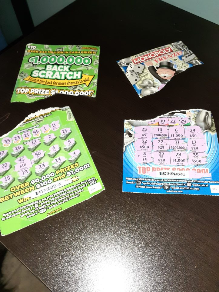 lottery scratch-offs that have expired