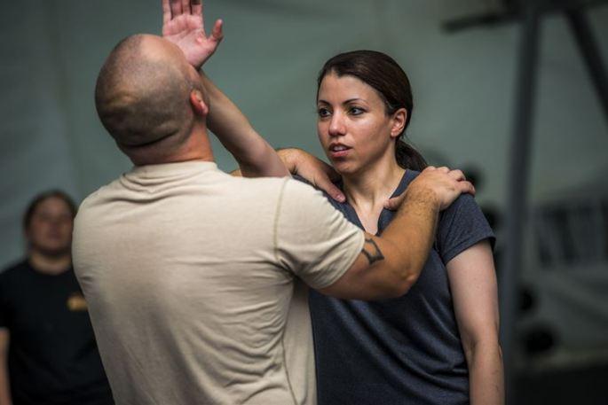 Martial arts training includes self-defense.