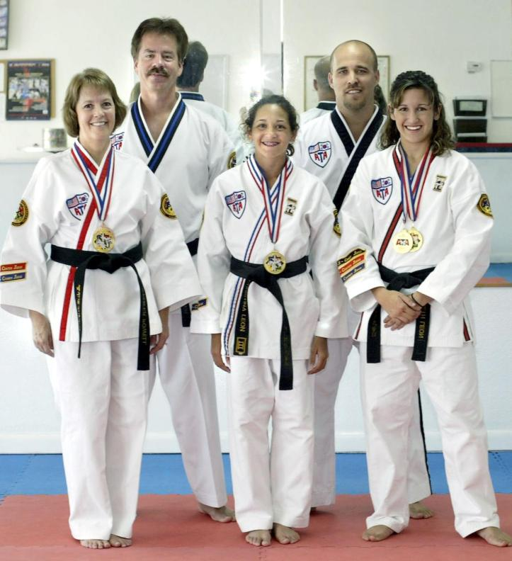 Martial arts training leads to physical and spiritual successes.