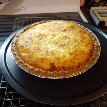 Swiss Cheese Quiche