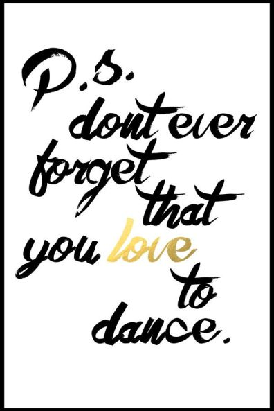 in love with ballroom dancing