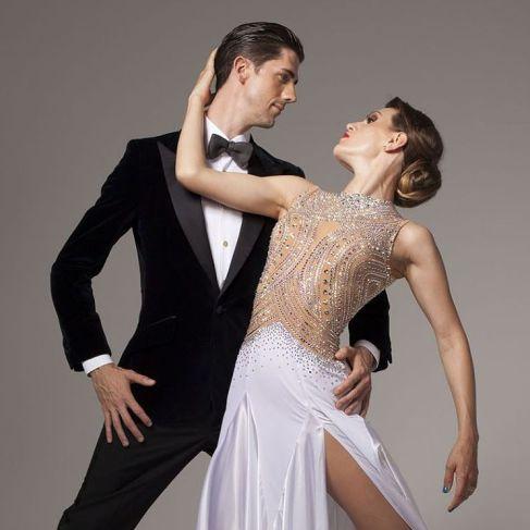 Beginning ballroom dance, learn to express the music.