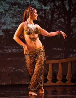 """Arabian"" - dance & concept: Fayzah, for Neville Dance Theater's Nutcracker, NYC"