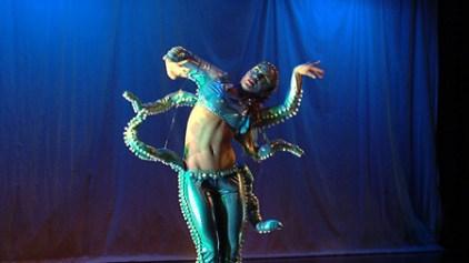 "Fayzah choreography - character - ""Elutheria; ruler of the deep seas"""