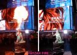 Fayzah Fire breathing