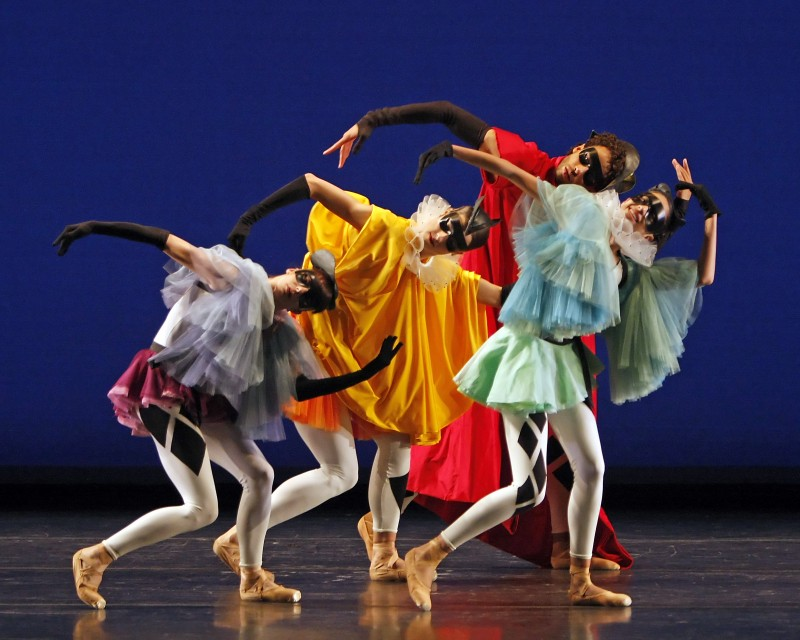 Wheeldon's Morphoses in Commedia. Photo: Erin Baiano © Source: Danceviewtimes