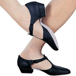 Sandale grècque, Chausson avec talon