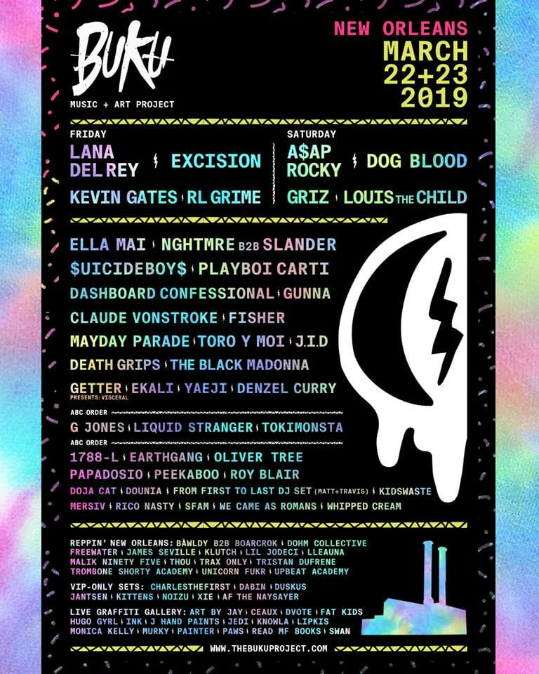 Dog Blood, A$AP Rocky, Lana Del Ray slated for Buku Music + Art Project 201947571525 1638028466298228 1933314601273786368 N