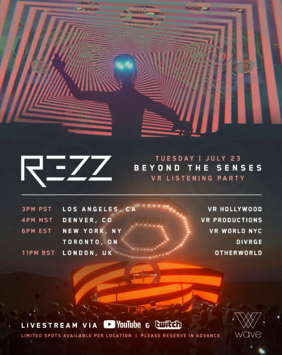 Tune into REZZ's 'Beyond The Senses' virtual reality listening party [Stream]Unnamed 1