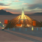 Burning Man unveils temple, 'Empyrean,' for 2020 iteration2020 01 05 Temple Perspective Final