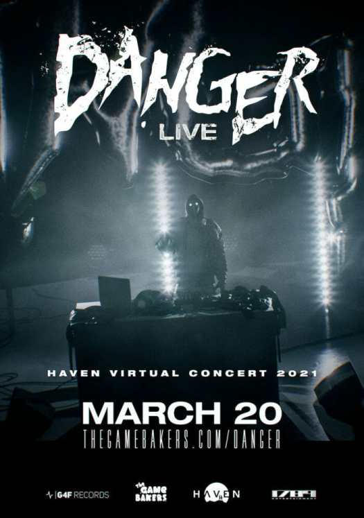 Astro Arcade: DANGER opens up on anime, gaming roots that inspired 'Haven' OST ahead of live Twitch performance [Q&A]DANGER LIVE DANCING ASTRONAUT