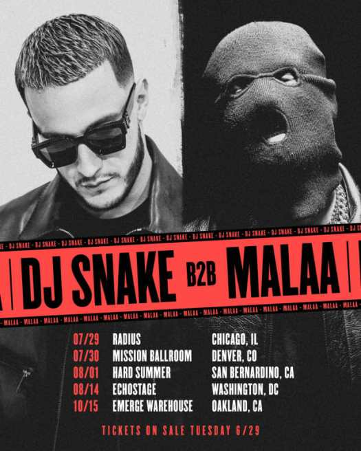 Out of the Secret Room and on to the stage: DJ Snake and Malaa announce b2b tourE4q3 Yjoaevzes