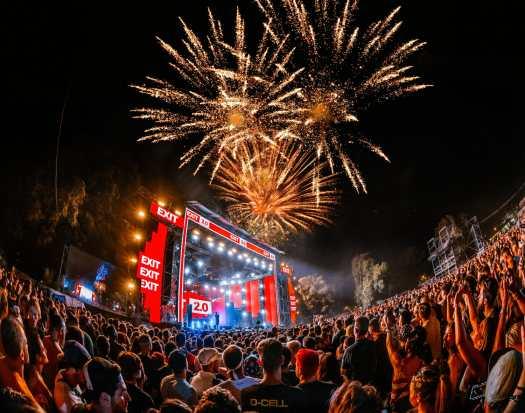 EXIT Festival celebrates a monumental 20th anniversary in Novi Sad, Serbia — photos by Jelena Ivanovic, Marko Edge, and Benny GasiMAIN FIREWORKS MARKO EDGE