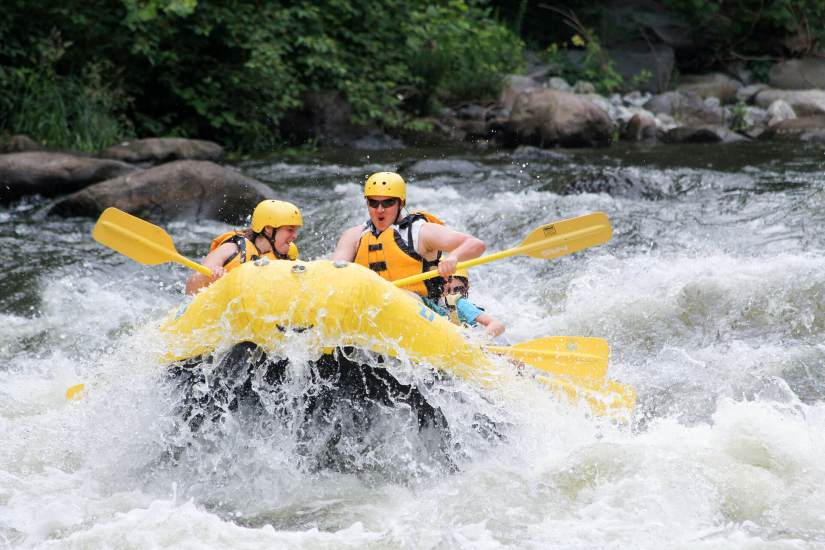 Rafting, Seasons in the Smokies