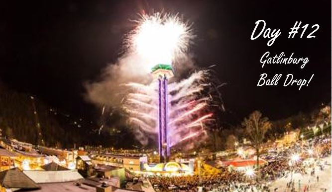 Gatlinburg Ball Drop with Fireworks