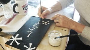 Let It Snow ~ Easy Sign-Making Video & Printable Template