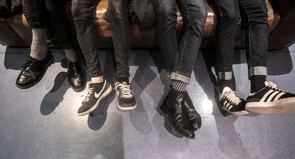 Les pieds de MNNQNS