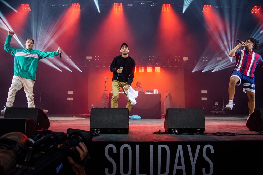 Solidays 2018 dancing feet