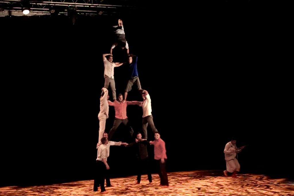 acrobates au cirque du sziget 2018