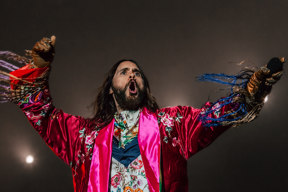 Rock en Seine 2018 30 seconds to Mars Jared Leto