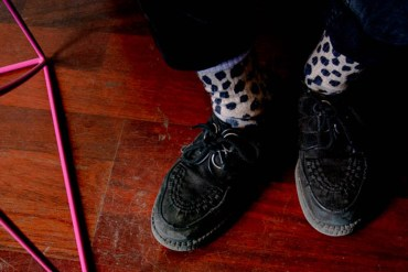 jeanne added dancing feet